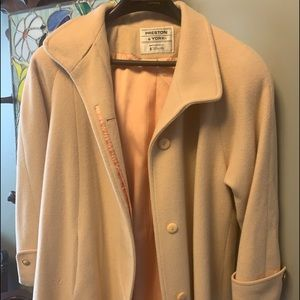 Vintage Preston & York Women's Long Wool Coat